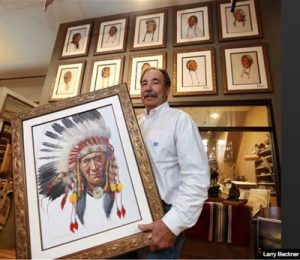 Battle of the Little Bighorn: $3.8M in Native American artwork for sale